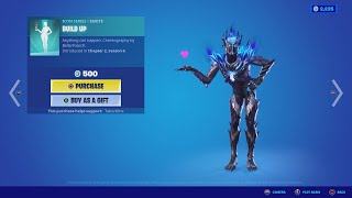 Grab the Build Up Emote with moves by Bella Poarch!
