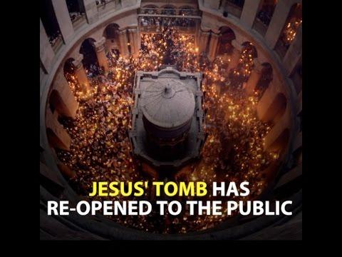 WATCH: Jesus' tomb in Jerusalem has been restored