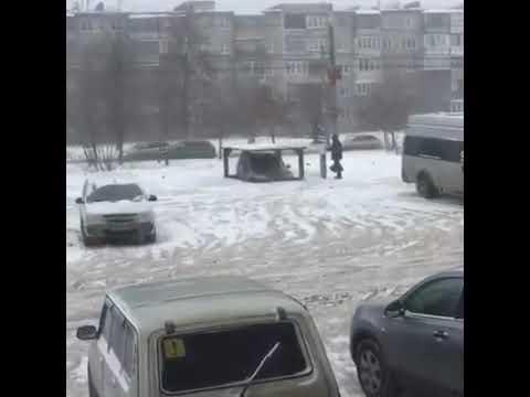 Челябинск, Металлургический район. Гараж, которого нет.
