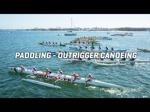 2018 Pan Pacific Masters Games | Outrigger Canoeing