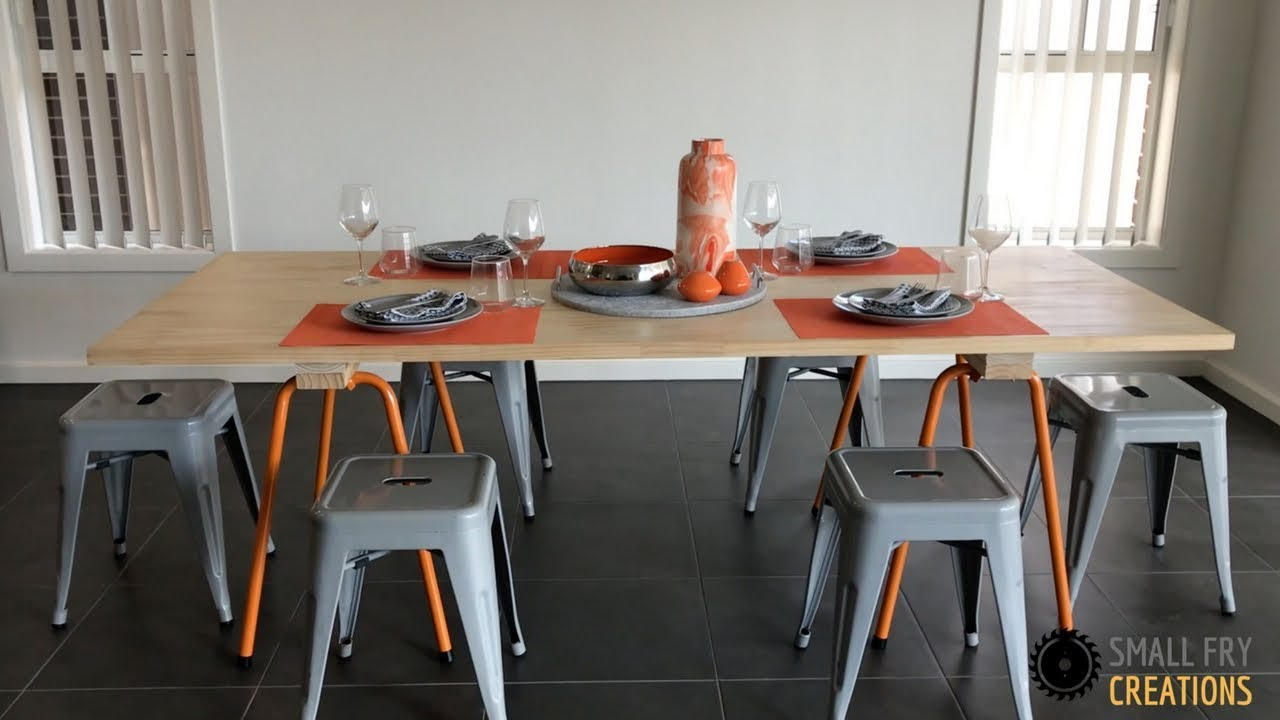 Diy Dining Table Under 150 Small Fry Creations