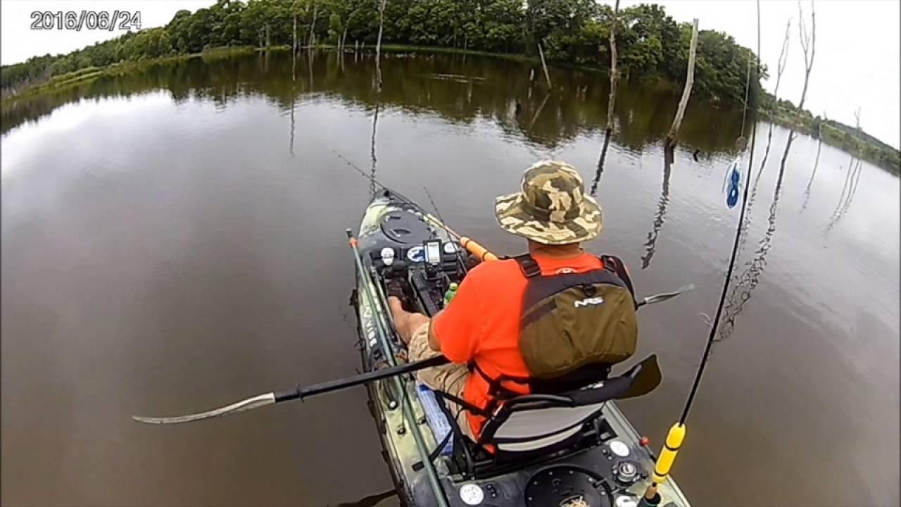Cedar creek lake ky kayak fishing youtube for Youtube kayak fishing