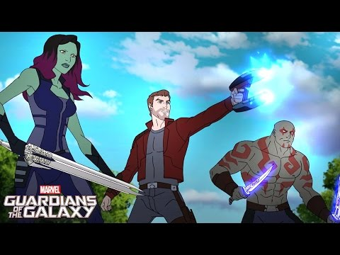 Guardians Reunited! | Marvel Guardians of the Galaxy | Disney XD