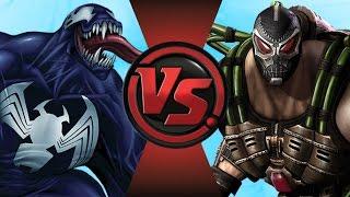 VENOM vs BANE! (Marvel VS DC Comics) Cartoon Fight Club Episode 108