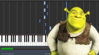 Shrek is Love, Shrek is Life - PIANO TUTORIAL