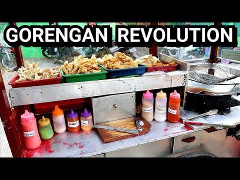 REVOLUSI GORENGAN ABANG ABANG - JAKARTA STREET FOOD - KULINER KELAPA GADING