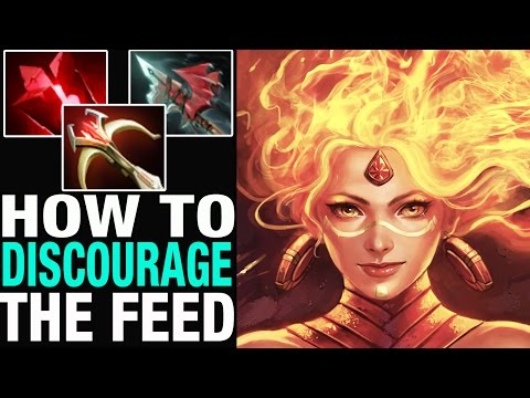 HOW TO DISCOURAGE THE FEED - BabyKnight 7,3k MMR - Dota 2