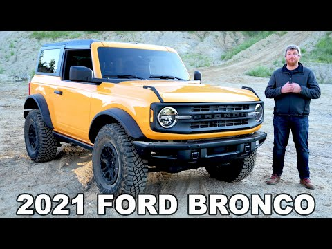 2021 Ford Bronco  Complete Look At The New Bronco