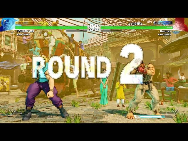 SF V Dantrax (Ryu) vs Johnny ms (Nash)