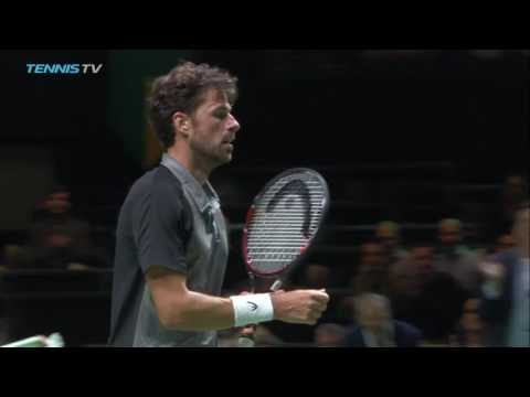 2017 Rotterdam Tennis Highlights: Berdych & Herbert 13 Feb