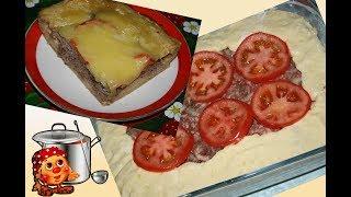 Вкусный картофельный пирог в духовке с фаршем и сыром. Отличный завтрак или ужин!