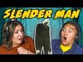 TEENS REACT TO SLENDER MAN TRAILER