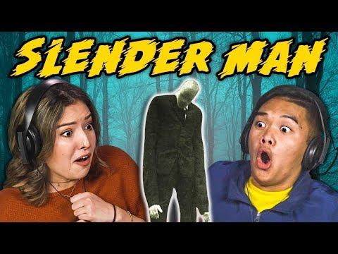 Download Youtube: TEENS REACT TO SLENDER MAN TRAILER