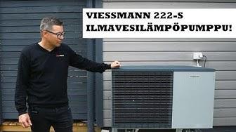 Esittelyssä Viessmann 222-S ilma-vesilämpöpumppu