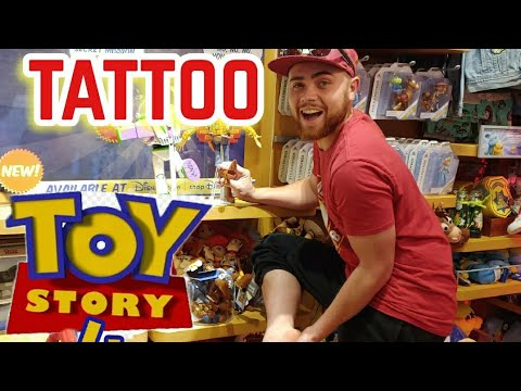Letting the person in front of me choose my TATTOO TOY STORY