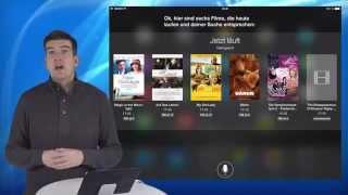 Kino- und Filmsuche mit Siri