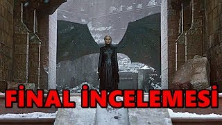 Game of Thrones 8.Sezon 6.Bölüm FİNAL İncelemesi - REZALET !!!