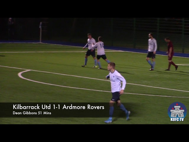 Kilbarrack Utd Vs Ardmore Rovers - LSL Senior 1B - 18th Oct 2019