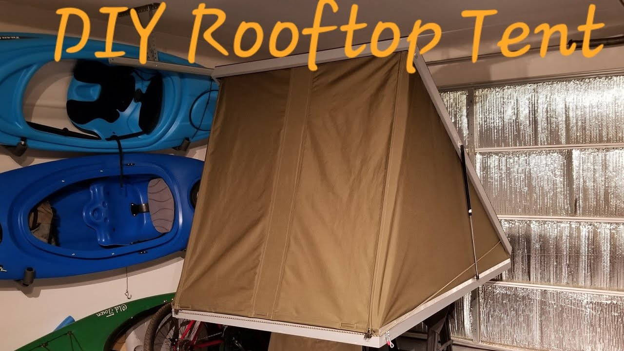 Diy Roof Top Tent Project Youtube