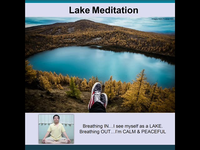 Garden of Mindfulness: Lake Meditation