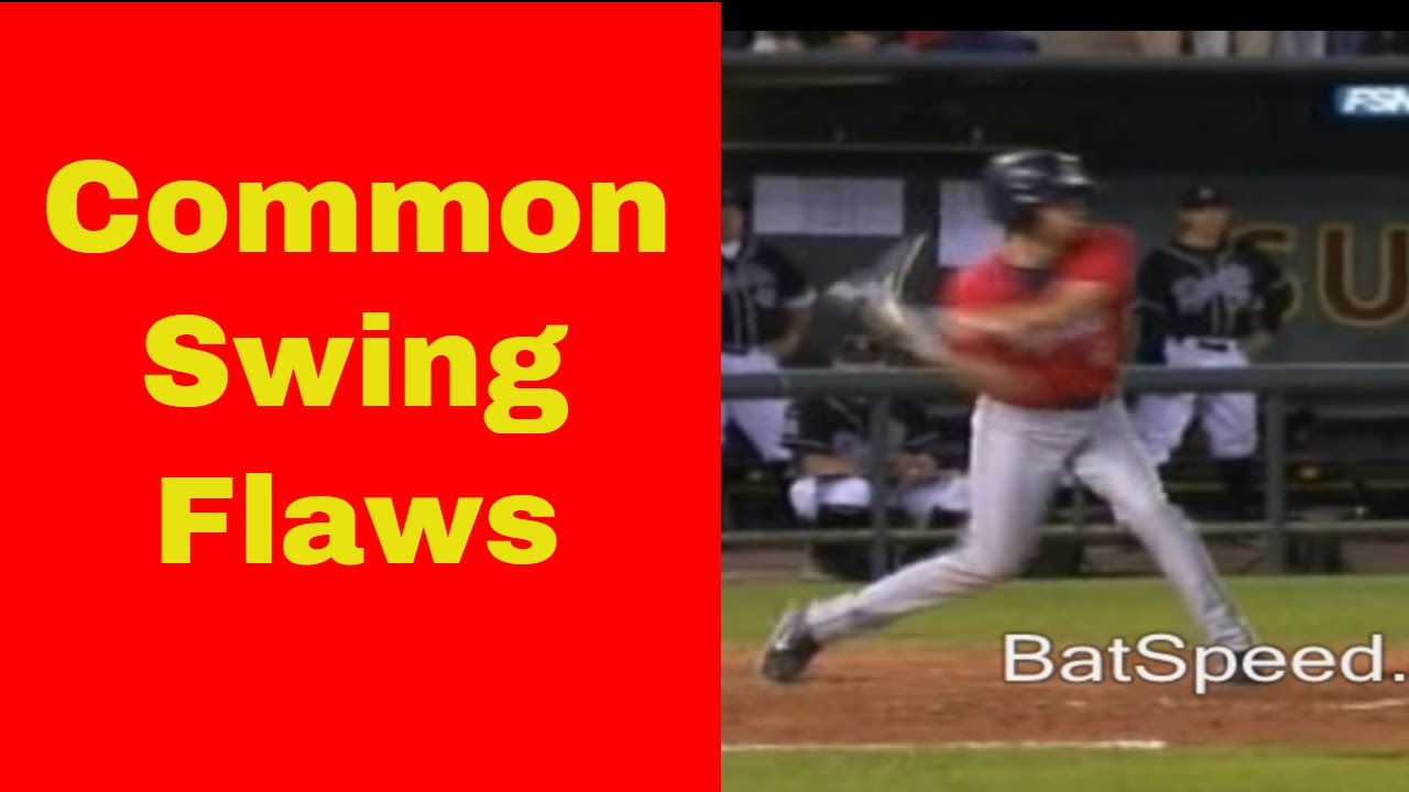 Baseball Hitting Instruction Common Youth Swing Flaws Batspeed