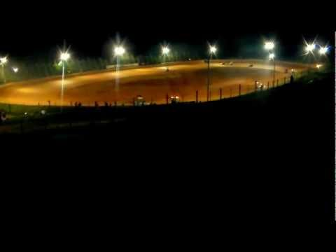 Rolling Thunder Raceway Mini Sprint Race 08-24-12