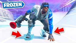 *FROZEN* Fortnite Battle Royale!