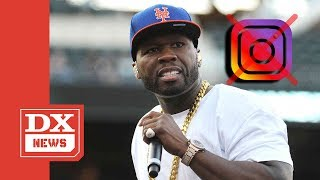 50 Cent Tweets Absolute Randomness After Instagram Account Gets Shut Down