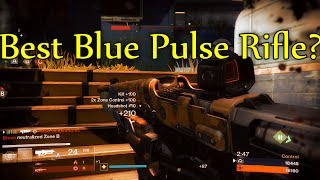 Destiny - THE BEST BLUE PULSE RIFLE?! (Lump Distribution Gameplay/Highlights)