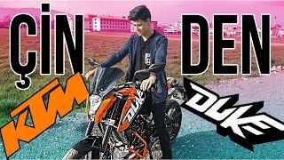 Yeni Motosikletim (KTM Duke) ve Çin'den Aldığım Aksesuarlar