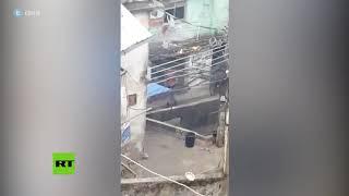 Tiroteo entre traficantes en una favela de Río de Janeito