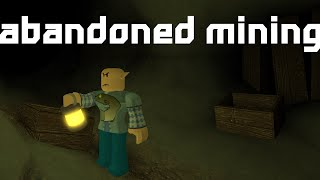 ROBLOX - Abandoned Mine Speed Build!