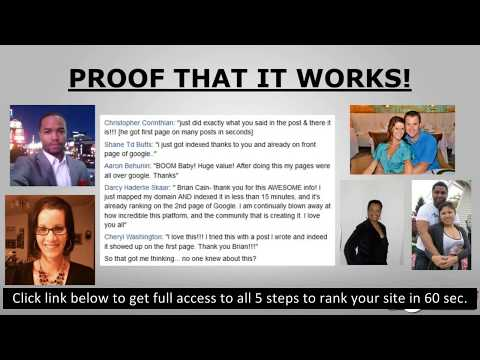 SEO tutorial step by step How to index and rank your website 2019 thumbnail
