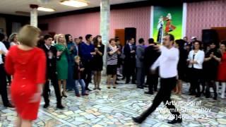 Черкесские Танцы на свадьбе Дзыбовых