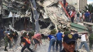 Death toll climbs following massive earthquake in Mexico