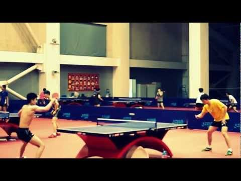 Shanxi Table Tennis Training