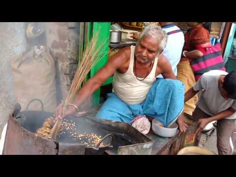 CHOLA BHAJA ROADSIDE BHUJIA SHOP POPULAR AND DEMANDING STREET FOOD