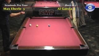 Max Eberle vs Alex Garcia at Hollywood Billiards