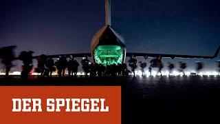 Kabul Airport: So verließen die letzten US-Truppen Afghanistan