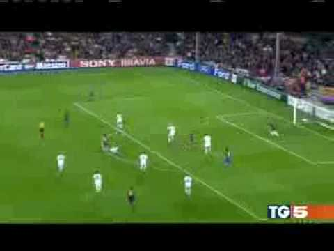 BARCELONA - INTER ( JULIO CESAR GREAT SAVE)