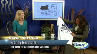 TALK OF THE TOWN | Franny Gerthoffer, Hilton Head Humane | October 1, 2013 | Only on WHHI-TV