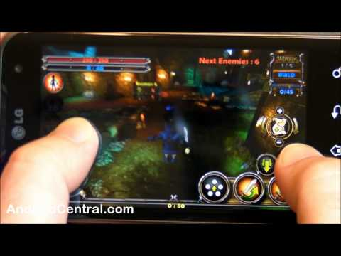 Gaming on the LG Optimus 2X