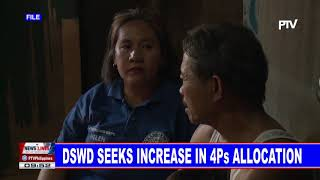 DSWD seeks increase in 4Ps allocation