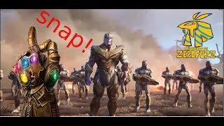 🔥Vuelvo A Ser Thanos Y Consigo Todas Las Gemas Fortnite X Avengers Endgame🔥