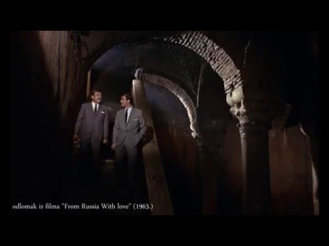 "Cisterna Bazilika/Basilica Cistern - 1963. ""From Russia With Love"""