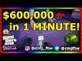 *NEW* MAKE $600,000 IN 1 MINUTE SOLO BLACKJACK GLITCH! GTA 5 ONLINE! PS4 XBOX 1