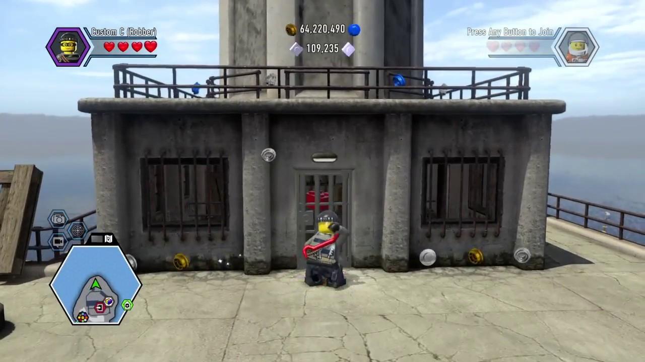 LEGO City Undercover - Police Siren Hat Red Brick Unlock ...