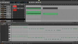 Bitwig tips, note transponsing with Note Harmonizer