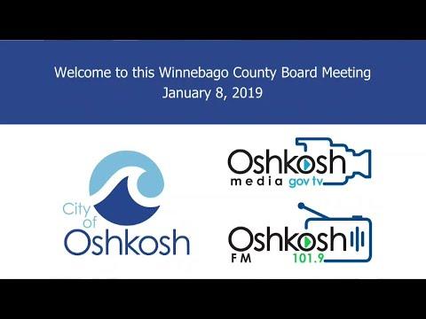 Winnebago County Board 1/8/19