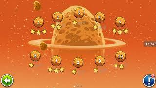 Прохождение Angry Birds Space #18 [Планета Eggsteroids](+Факты Солнечной Системы)